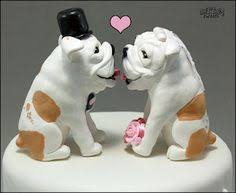 bulldog cake topper bulldog wedding cake topper unique wedding ideas