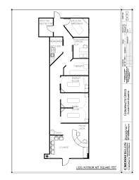 example of chiropractic floor plan semi open adjusting therapy