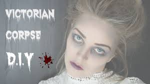 halloween victorian corpse hair and makeup youtube