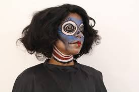 what u0027s up flexcia spooky halloween makeup ft hairspray and the
