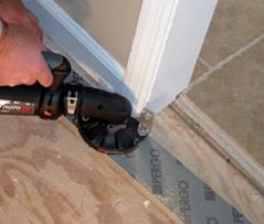 Laminate Flooring Saw Installing A Laminate Floor Extreme How To