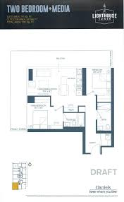 Waterfront Floor Plans by Daniels Waterfront Maziar Moini Broker Home Leader Realty Inc