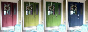 front doors front door paint ideas uk purple paint color for