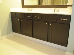 Black Painted Bathroom Cabinets Mistakes While Painting Kitchen Cabinets Midcityeast
