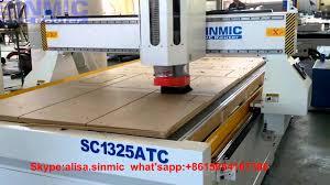 economic atc tool changer cnc router machine cnc wood cutting