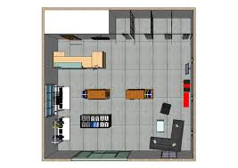 3d model floor plan 3d model of store overview u2013 hjk03341