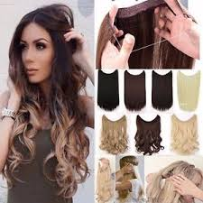 secret hair extensions 100 premium thick invisible wire secret hair extensions brown
