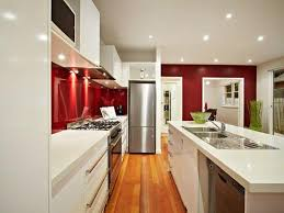 kitchen design ideas for small galley kitchens interior in stylish