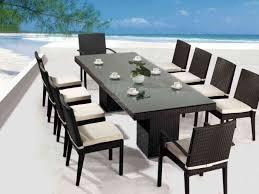 Gray Patio Furniture Sets Patio 43 412067 Resin Wicker 7 Piece Patio Dining Set Gray