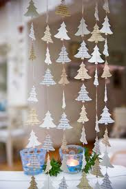 christmas garland christmas window decorations rustic
