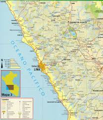 Lima Map Peru Road Map 6 Peru 06 Douglas Fernandes Flickr
