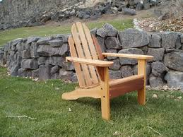 Patio Chairs Canada by Furniture Green Painted Teak Adirondack Chair With Small Outdoor