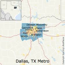 map of dallas fort worth best places to live in dallas fort worth arlington metro area