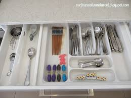 our four walls and a roof kitchen drawer organisation