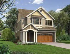 narrow lot house plans craftsman plan 69586am deceptively spacious craftsman house plan