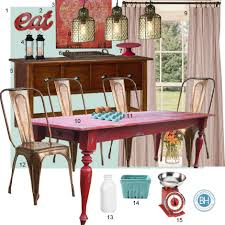 Red Dining Room Sets Mood Board Turquoise And Red Dining Room Farmhouse Inspired