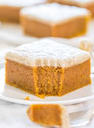Pumpkin Bars With Crumb Topping Fudgy Pumpkin Bars With Vanilla Bean Browned Butter Glaze Averie