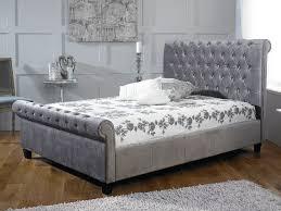 Suede Bed Frame Store Limelight Orbit Bed Frame Silver