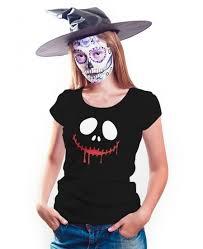 Womens Joker Halloween Costume Women Joker Face Shirt Halloween Shirt Collection