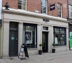 rush hair york tea and blush