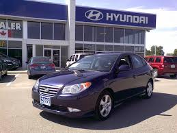 used 2009 hyundai elantra for sale in port hope hyundai certified