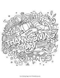 thanksgiving coloring page happy thanksgiving day free