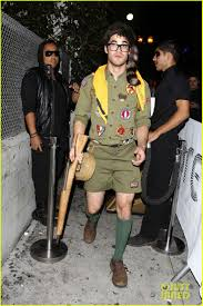 Judge Dredd Halloween Costume Chris Colfer U0026 Darren Criss Matthew Morrison U0027s Halloween Party