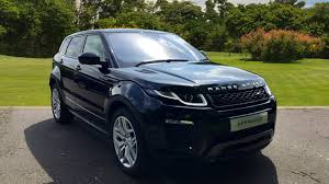 land rover black 2017 used land rover range rover evoque 2 0 td4 hse dynamic lux 5dr