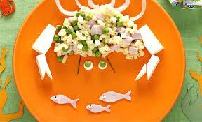 recettes cuisine pour enfants recette de cuisine pour enfant plat jambon pate en forme de crabe