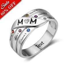 mothers ring with names 6 mothers ring rsnamenecklace