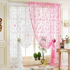 String Tassel Curtains White Decorative Beads String Tassel Curtain Bathroom Door Window