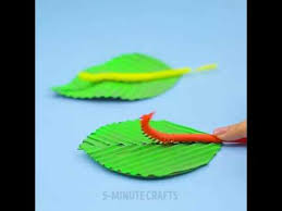 How To Make A Paper Worm - creative straw ideas straws tricks how to make a worm with