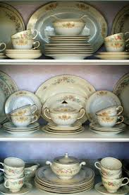 What To Put In A Curio Cabinet A Little Loveliness China Cabinet Before U0026 After China Cabinet