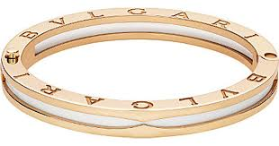 ceramic bracelet fashion images Lyst bvlgari b zero1 18ct pink gold and white ceramic bracelet jpeg