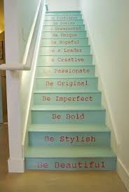 Painted Stairs Design Ideas This Is A Great Idea For The Home Pinterest Staircases