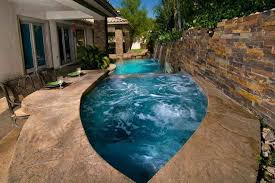 Above Ground Pool Ideas Backyard House Plans Lap Pool Spa Combination Above Ground Pool Ideas