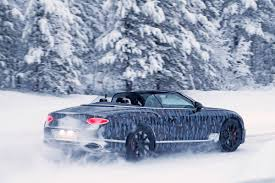 bentley snow new bentley continental gtc spied pictures bentley continental