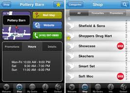 mall app going to the mall there s an app for that
