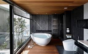 Wood Bathroom Ideas Bathroom Bathroom Trends Modern Design Black White Wood Designs