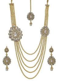 double necklace set images Long double pendant gold kundan necklace set kundan sone ka har jpg