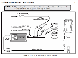 msd 6al ignition wiring diagram ford wiring diagrams for diy car