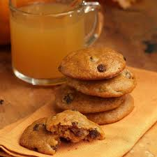 thanksgiving cookies recipes spiced pumpkin cookies recipe eatingwell