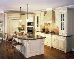 Gourmet Kitchen Designs Kitchen White Kitchen Cabinets With Granite Countertops Luxury