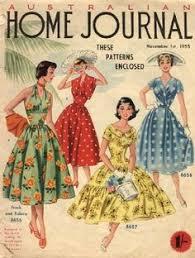 Home Patterns Australian Home Journal Pattern Sheet Dec 1961 60s Women U0027s