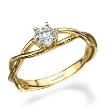 pretty engagement rings from etsy popsugar fashion