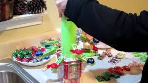 candy tree how to christmas boquet youtube