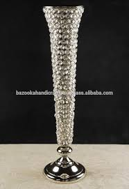 Silver Vase Wholesale Crystal Trumpet Vase Crystal Trumpet Vase Suppliers And