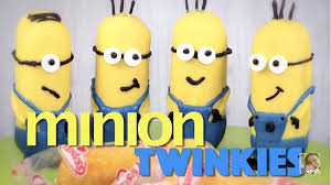 edible minions an adorable and recipe for twinkie snacks that look like