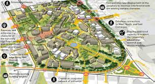 University Of Wisconsin Campus Map by Campus Master Plan Capital Planning And Development