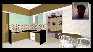 3d interior design of kitchen in thane near mumbai youtube